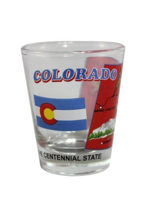 State Shot Glass Colorado - CO