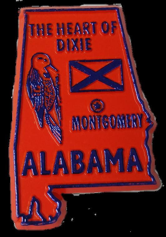 State Magnet Alabama - AL - 2D