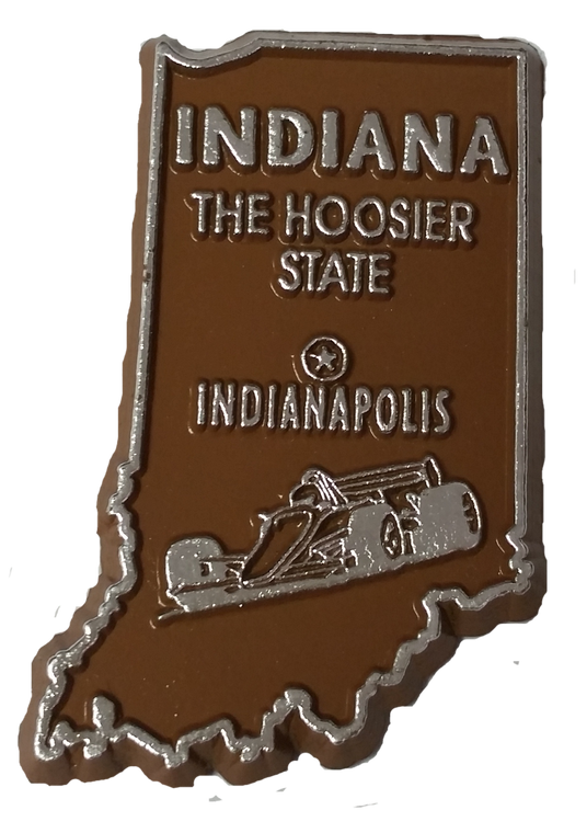 State Magnet Indiana - IN - 2D