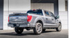 """BORLA Cat-Back Exhaust F-150 2021 3.3L Extended Cab, Standard Bed / Crew Cab, Short Bed 4"""" TOURING DUAL SIDE EXIT BLACK CHROME TIPS"""