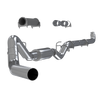 """MBRP 4"""" Down Pipe Back, Single Side, Off-Road (includes front Pipe) 2001-2007 2500/3500 Duramax, EC/CC"""