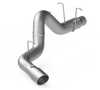 """MBRP 5"""" Filter Back, Single Side, AL, Chevy/GMC 2500/3500 Duramax 2011 - 2019"""