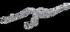 "MBRP 2.5"" Cat Back, Dual Split Rear, T304 (through stock bumper), Dodge Ram 1500 5.7L Hemi 2009-18, 2019 Classic"