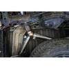 """MBRP 3"""" Cat Back, Dual Split Rear Exit, Black Coated, Ford Ranger Ecoboost 2.3L 2019-2021"""
