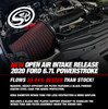 S&B Intake 2020 Ford F250 / F350 6.7L Powerstroke (Oiled or Dry Filter)