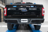 """MBRP 3"""" Cat-Back Single Side Exhaust System, 2021 Ford F-150 Black Coated Aluminized Steel"""