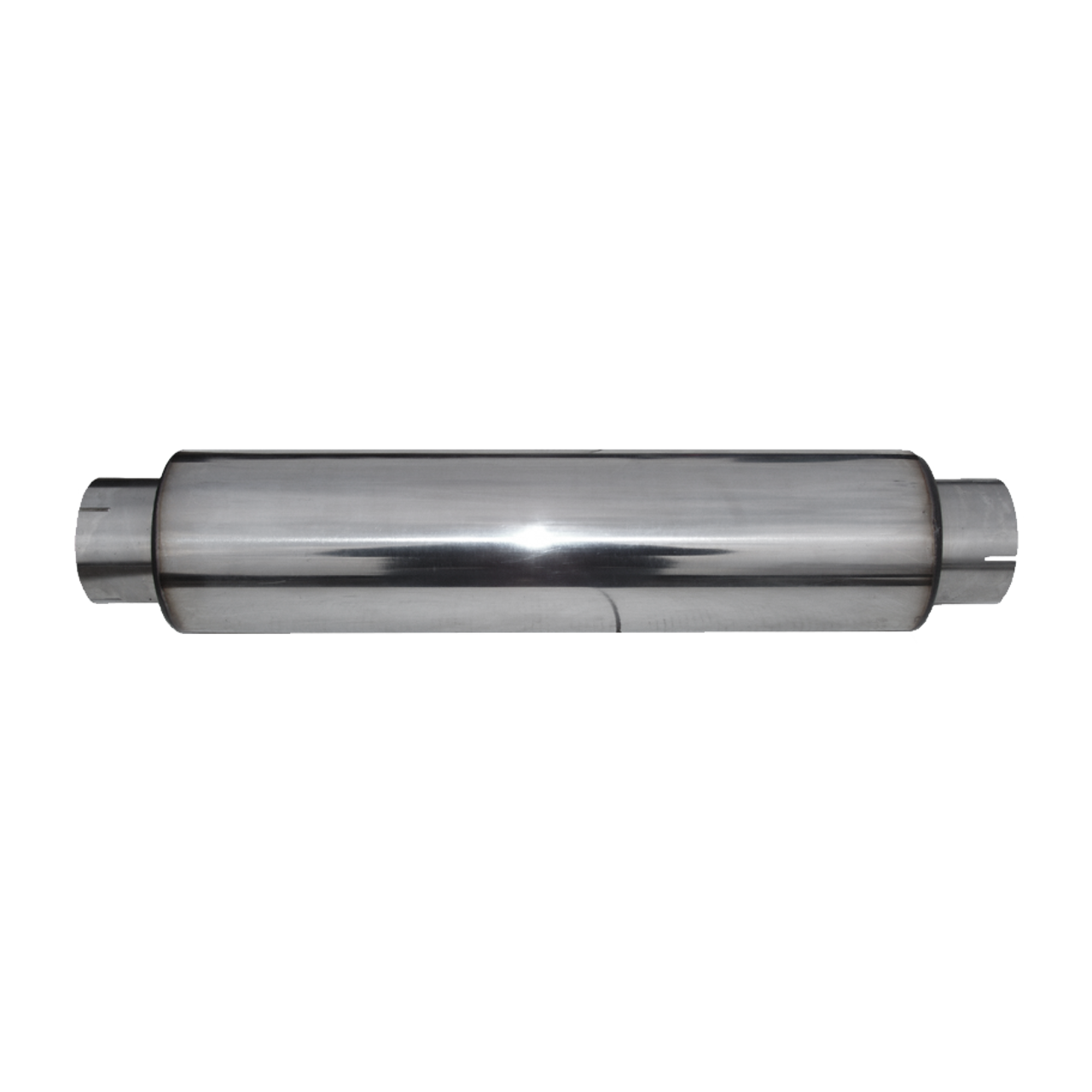 """MBRP Universal T304 Stainless Steel Muffler Delete Pipe 4/"""" In//4/"""" Out//30/"""" Long"""