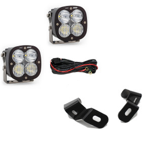 Baja Designs Dodge Ram LED Light Pods For Ram 2500/3500 2019+ A-Pillar Kits XL 80 Driving Combo