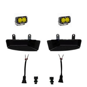 Baja Designs Dodge Ram Light Kit For Ram 2500/3500 2019+ FPK S2 Sport w/ C 448043