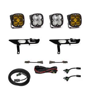 Baja Designs Fog Pocket Kit SAE Amber/Pro DC Ford F-150 2021+ 447700