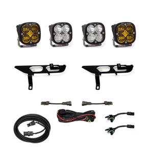 Baja Designs Fog Pocket Kit SAE Amber/Sport DC Ford F-150 2021+ 447698
