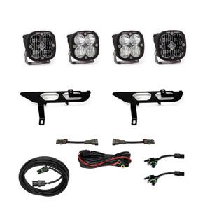 Baja Designs Fog Pocket Kit SAE Clear/Sport DC 2021+ Ford F-150 447697