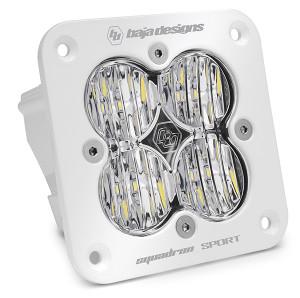 Baja Designs Flush Mount LED Light Pod White Squadron Sport 551005WT