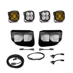 Baja Designs Ford Super Duty (2020+) Fog Lights Dual FPK Amber SAE/Pro DC 447737up