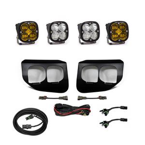 Baja Designs Ford Super Duty (2020+) Fog Lights Dual FPK Amber SAE/Pro DC 447737