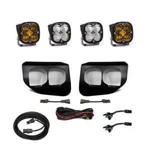 Baja Designs Ford Super Duty (2020+) Fog Lights Dual FPK Amber SAE/Sport DC 447739