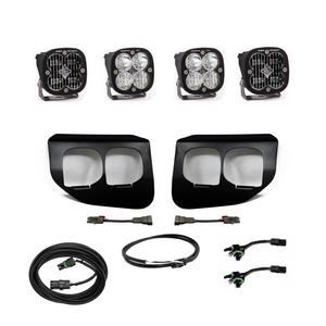 Baja Designs Ford Super Duty (2020+) Fog Lights Dual FPK SAE/Pro DC 447736up