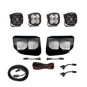 Baja Designs Ford Super Duty (2020+) Fog Lights Dual FPK SAE/Pro DC 447736