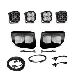 Baja Designs Ford Super Duty (2020+) Fog Lights Dual FPK SAE/Sport DC 447738up
