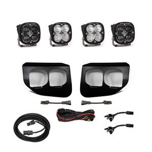 Baja Designs Ford Super Duty (2020+) Fog Lights Dual FPK SAE/Sport DC 447738