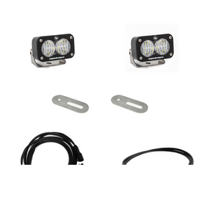 Baja Designs Ford Super Duty 2017+ LED Light Kit Reverse Kit w/ Upfitter