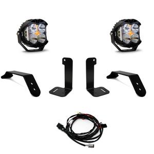 Baja Designs Jeep JL/JT Dual LP4 Auxiliary Light Kit