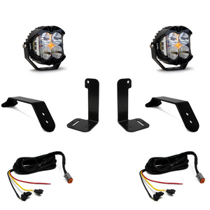 Baja Designs Jeep JL/JT Dual LP4 Auxiliary Light Kit w/ Upfitter