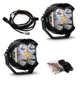 Baja Designs Jeep JL/JT Rubicon Steel Bumper LED Light Kit LP4 447672