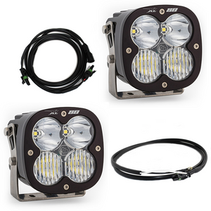 Baja Designs Jeep JL/JT Rubicon Steel Bumper LED Light Kit XL 80 447669up