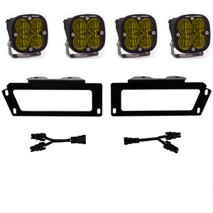 Baja Designs Fog Lights SAE Fog Pocket Kit 2010-2018 RAM 1500 09-12 Ram 2500/3500 447719