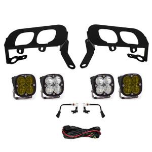 Baja Designs Fog Pocket Kit Amber Silverado 1500 2014-2015 FPK, SAE w/ C & Sport D/C 447531
