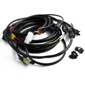 Baja Designs Squadron/S2 Wire Harness 3 Light Max 325 Watts