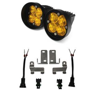 Baja Designs  LED Light Kit Amber Lens Tacoma 2010+ /4Runner 2010+ /Tundra 2014+  Squadron Sport WC FGXX