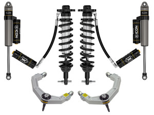 """ICON STAGE 4 SUSPENSION SYSTEM W/ BILLET UCA 0-2.75"""" 2021+ FORD F150 4WD"""