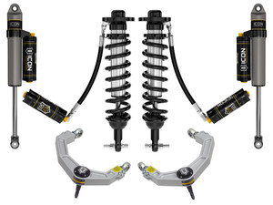 """ICON STAGE 5 SUSPENSION SYSTEM W/ BILLET UCA 0-2.75"""" 2021+ FORD F150 4WD"""