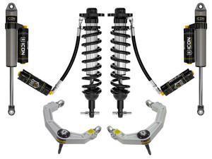"""ICON STAGE 5 SUSPENSION SYSTEM W/ BILLET UCA 0-3"""" 2021+ FORD F150 2WD"""