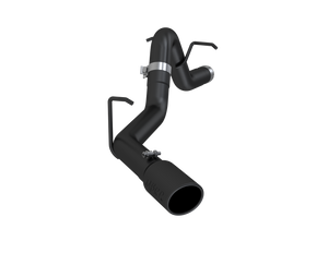 """MBRP 3"""" Filter Back, Single Side , Black Coated, Chevy/GMC Colorado/Canyon 2.8L Duramax 2016 - 2021"""