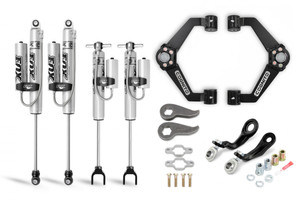 """Cognito 3"""" Premier Leveling Kit with Fox PSRR 2.0 Shocks for 2011-2019 GMC/Chevy Sierra/Silverado 2500/3500 2WD/4WD"""