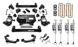"""Cognito 4"""" Performance Lift Kit with Fox PS 2.0 IFP Shocks for 2020-2021 GMC/Chevy Sierra/Silverado 2500/3500 2WD/4WD"""