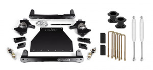"""Cognito 4"""" Standard Lift Kit for 2007-2018 GMC/Chevy Sierra/Silverado 1500 2WD/4WD With OEM Cast Steel Control Arms"""