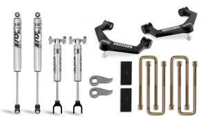 """Cognito 3"""" Performance Uniball Leveling Lift Kit With Fox PS 2.0 IFP Shocks for 2020-2021 GMC/Chevy Sierra/Silverado 2500/3500 2WD/4WD"""