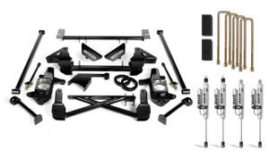 "Cognito 7"" Standard Lift Kit With Fox PSRR 2.0 Shocks for 2001-2010 GMC/Chevy Sierra/Silverado 2500/3500 2WD/4WD Non-StabiliTrak"
