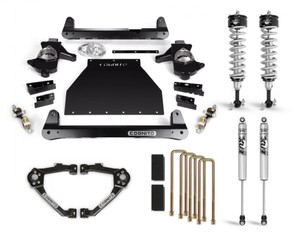 """Cognito 4"""" Performance Lift Kit With Fox PS IFP 2.0 Shocks for 2014-2018 GMC/Chevy Sierra/Silverado 1500 2WD/4WD With OEM Stamped Steel/Cast Aluminum Control Arms"""