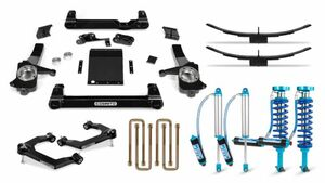 """Cognito 4"""" Elite Lift Kit with King 2.5 Remote Reservoir Shocks for 2019-2021 Silverado Trail Boss/Sierra AT4 1500 4WD"""