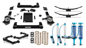 """Cognito 6"""" Elite Lift Kit with King 2.5 Remote Reservoir Shocks for 2019-2021 GMC/Chevy Sierra/Silverado 1500 2WD/ 4WD"""