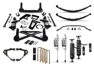 """Cognito 10"""" Elite Lift Kit with Fox FSRR Shocks for 2007-2018 GMC/Chevy Sierra/Silverado 1500 2WD/4WD With OEM Cast Steel Control Arms"""