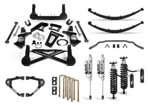 """Cognito 12"""" Elite Lift Kit with Fox FSRR Shocks for 2007-2018 GMC/Chevy Sierra/Silverado 1500 2WD/4WD With OEM Cast Steel Control Arms"""