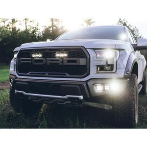 Rigid 2017-2020 Ford Raptor Fog Light Mounts, Fits 6 D-Series