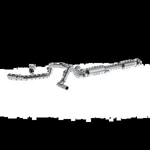 "MBRP 2.5"" Cat Back, Dual Side Exit, AL, Ford F-150 5.0L 2015 - 2020"