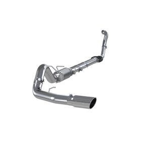 "MBRP 4"" Turbo Back, Single Side Exit, (Aluminized 3"" downpipe), T409, Ford F-250/350 7.3L Powerstroke 1994 - 1997"